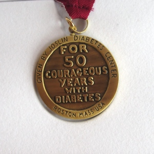 """For 50 Courageous Years With Diabetes"""
